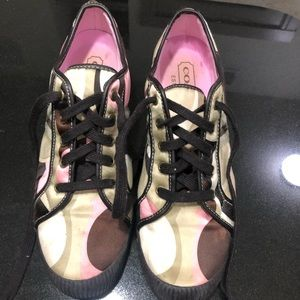 Coach sneakers. Size 10M. Barely worn